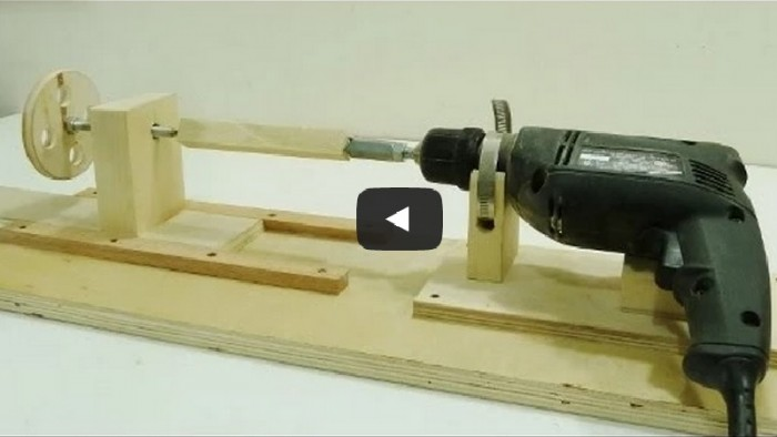DIY Project: Make Your own Mini Lathe