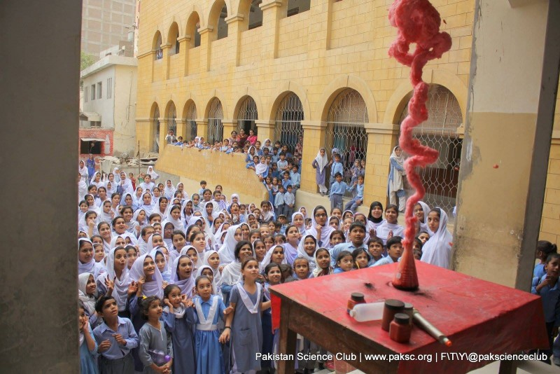 PSC's Science Show in Sukkur