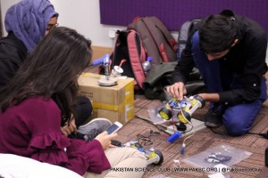 Robotic workshop at Habib University Photo Gallery