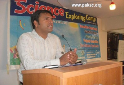 Abdul Rauf President/ Founder of Pakistan Science Club