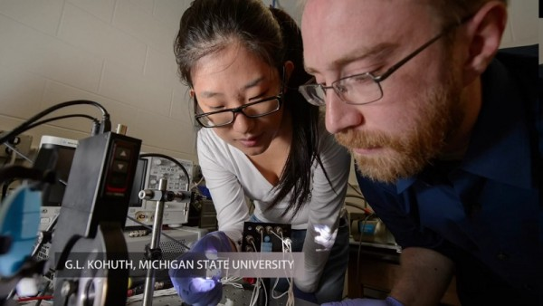 Turning Ordinary Glass Surfaces into Solar by MSU