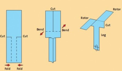 How To Build Paper Helicopters (Urdu)