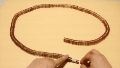 Amazing Video: Simplest Electric Train