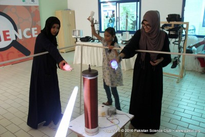 Photos of MagnifiScience Exhibition