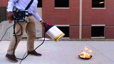 Amazing invention! Sound Extinguish Fire
