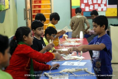 3rd day STEM Summer Camp 2016 Photos