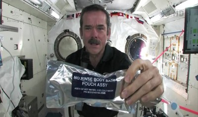 How to wash your hands in space?