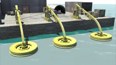Wave Energy Converter Project Animation