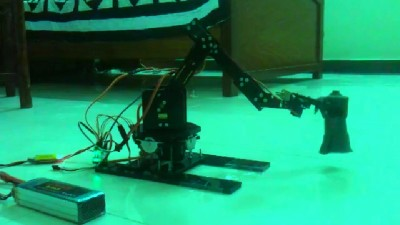 "Robotic Arm ""Dancing like Snake"""