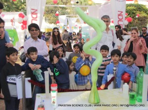 Science show at CAP Carnival