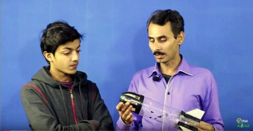 live with Mahboob Alam water rocket expert