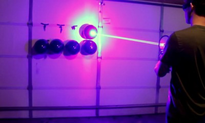 22-year-old has built Fully-Functional Laser Gun at Home