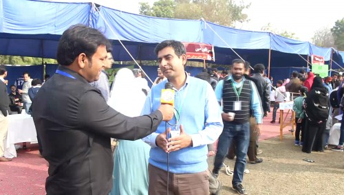 Dr Sabieh Anwar views about Lahore Science Mela