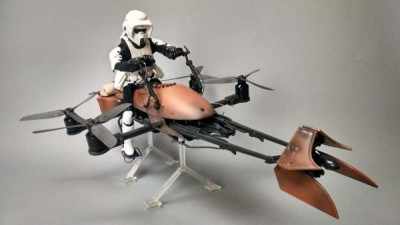 Watch amazing star Wars bike drone