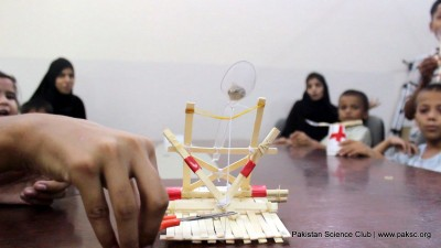 Popsicle Stick Catapults science camp Activity