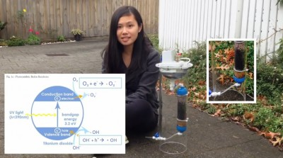 Girl Invented smart device that makes clean water and power at The same time