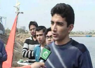 Pakistan's First Sailing Boat, Invented by Sajid Mahmood