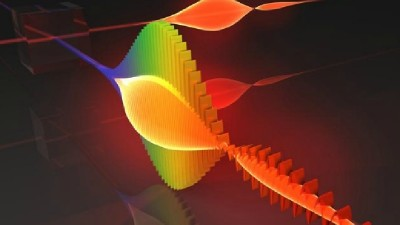 The first ever Image of Light Behaving As Both A Wave and A Particle