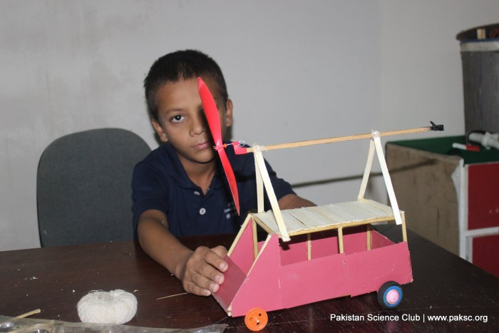 Science Camp 15 activity project video