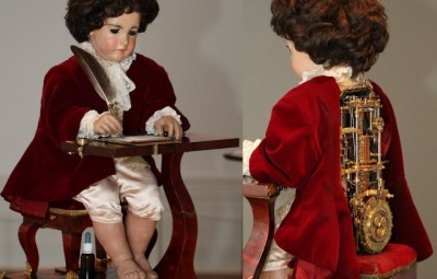 The Writer: 250 year old programmable automaton