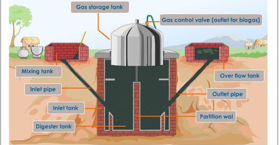 bio gas project report Biogas typically refers to a mixture of different gases produced by the decomposition of organic matter in the absence of oxygen its liquid equivalents include biodiesel and biogasoline.