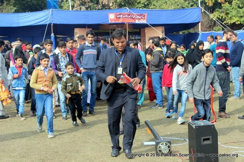 Abdul Rauf going to demo Water Rocket in Lahore Science Mela