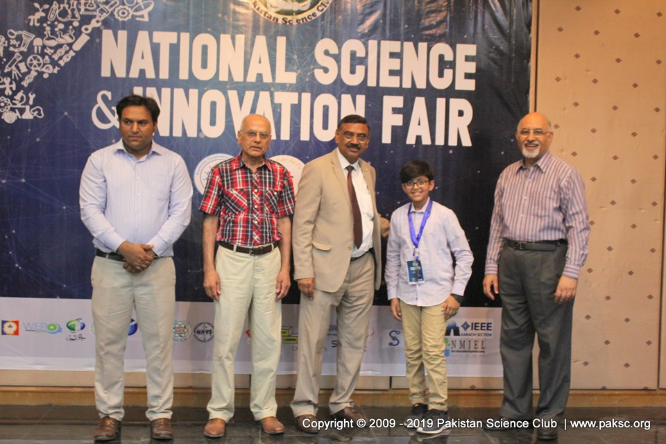 National Science & Innovation Fair 2019 at Karachi, Pakistan