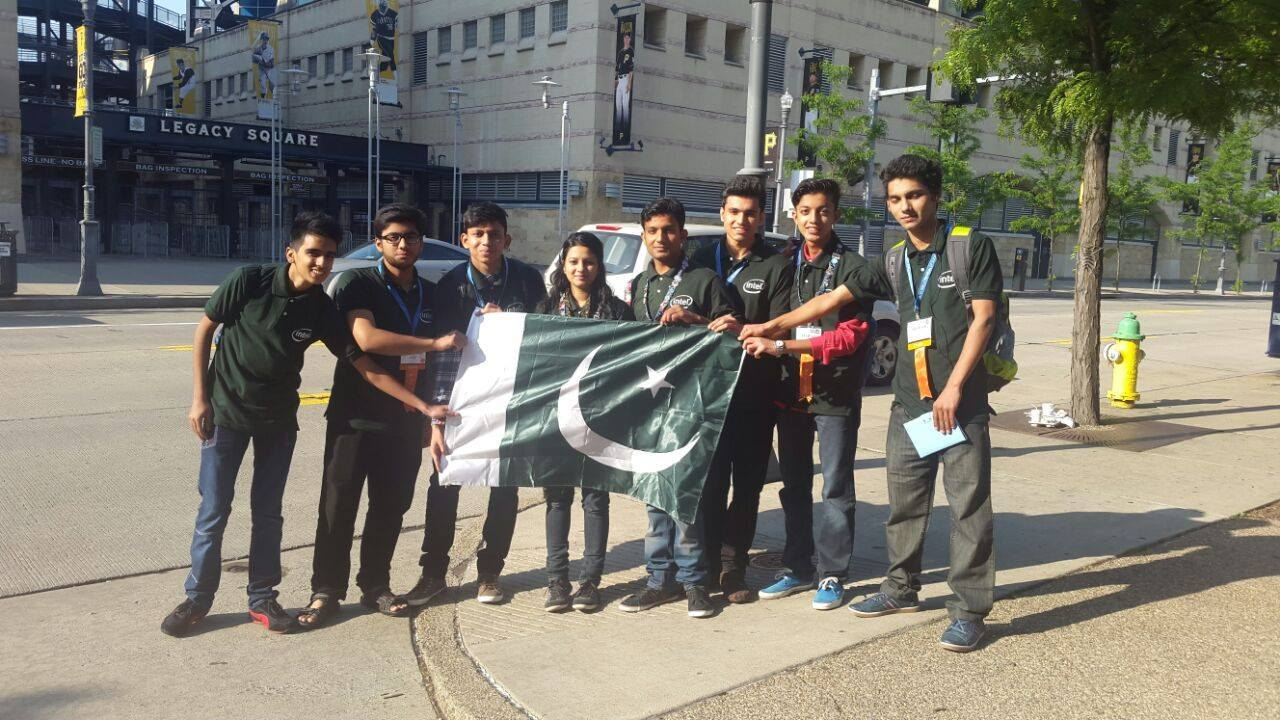 Team Pakistan is participating in Intel ISEF at Pittsburgh, USA