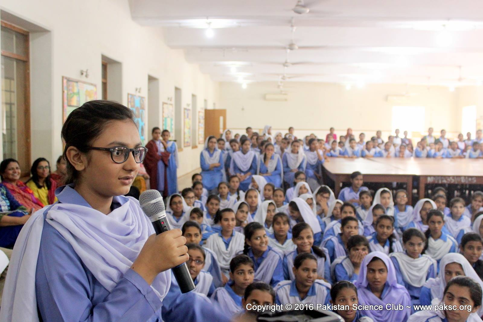 science activities in smb fatima jinnah government girls school