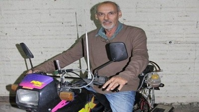 Brazilian claim He Invented water-powered motorbike