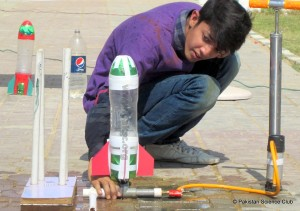 Water Rocket Launching