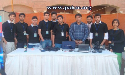 Team PSC in The City School PAF Chapter Science Olympiad