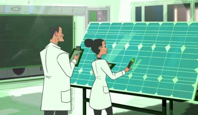 How does the solar panels work?