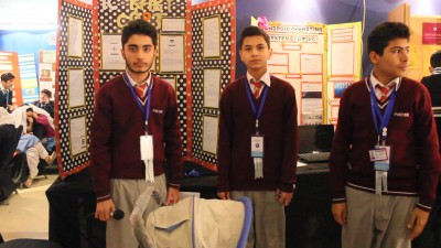 Grade 8 students invent Smart Baby Cart (News URDU)