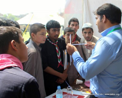Hands-on science activities in KPK by Pakistan Science Club