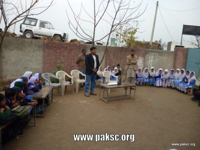 Pakistan Science Club's Activity at GOVT primary school Nazeer Pura Sialkot