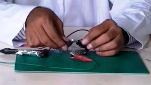 How to make Battery Cell from Charcoal