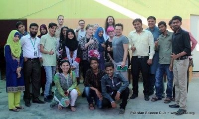 University of Salford and MadLab UK Team Visit PAkistan Science Club Gallery