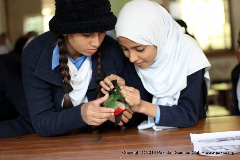 Water rocket training workshop at SMB Fatima Jinnah govt girls school Photo Gallery