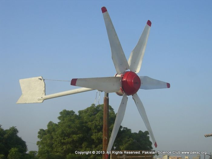 Modified ceiling fan into wind turbine aloadofball Images
