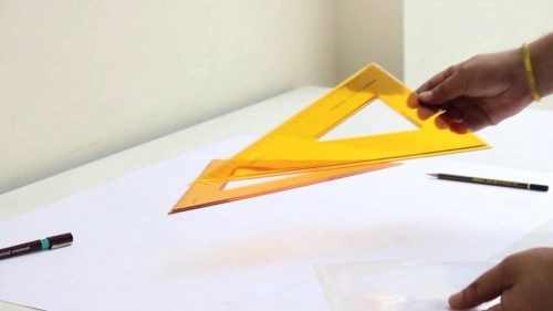 Hands-on Project # 2 Make your own SET SQUARE