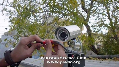 Homemade Motorized CCTV Camera Photo Gallery