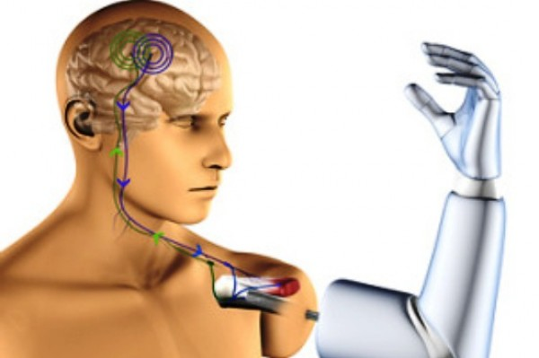brain controlled artificial legs A postdoctoral student has developed a technique for implanting thought-controlled  the future of artificial  first mind-controlled, bone-mounted robotic arms.