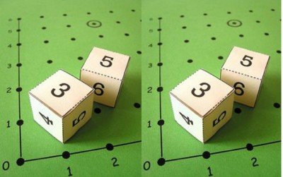 How to Make Coordinate Dice Game