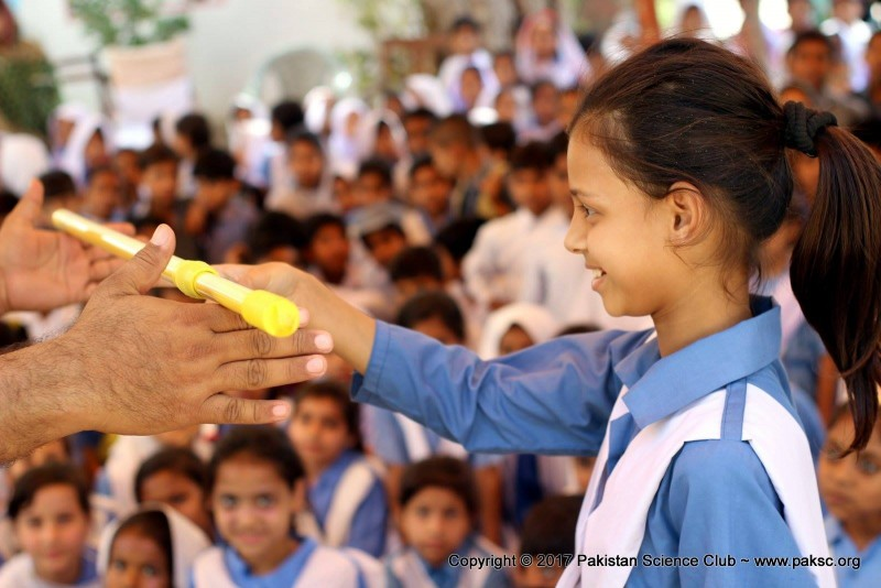 FunScienceShow at Rahat-e-Islamia government School