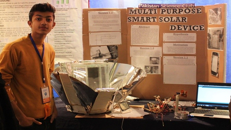 Multi purpose smart solar device by Habab Idrees