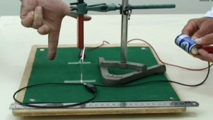 Left Hand Rule Experiment Demonstration