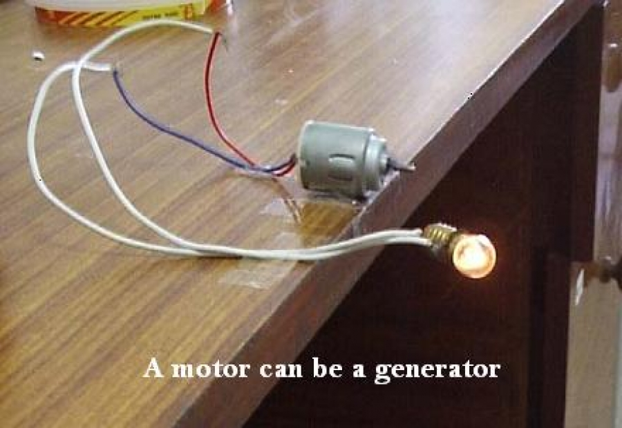 make simple dc generator