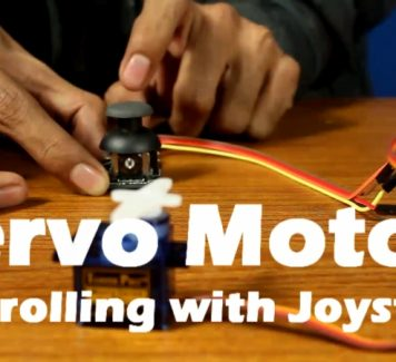 Arduino Lesson #5 Servo Motor Controlling with Joystick