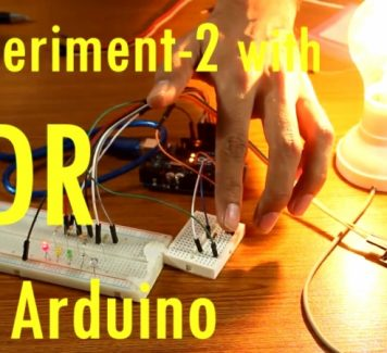Build Automatic Night Light Control or Switch with Arduino